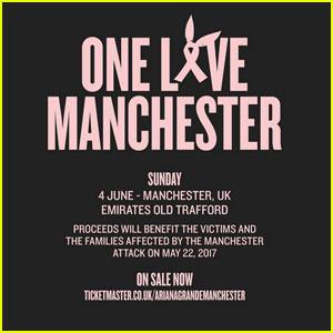 'One Love Manchester' Benefit Concert - Full Set List Here!