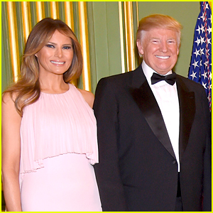 Donald Trump & Wife Melania Attend Treasury Secretary Steven Mnuchin's Wedding