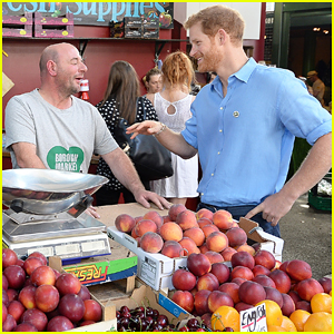 Prince Harry Makes Surprise Visit To Borough Market After London Terror Attacks!