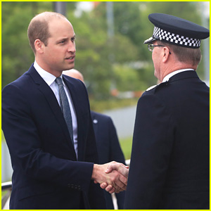 Prince William Meets First Responders in Manchester, Surprises Young Victims at Children's Hospital