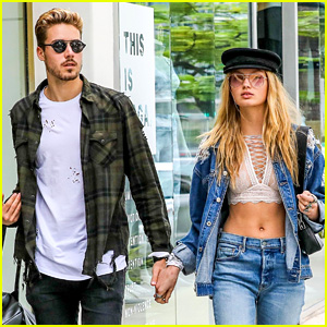 Romee Strijd Looks So Happy with Boyfriend Laurens van Leeuwen