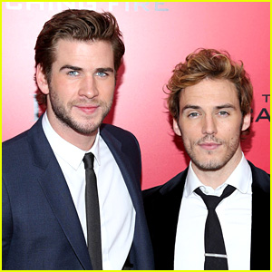 Sam Claflin Wants to Do a 'Fifty Shades' Style Film with the Hemsworth Brothers!