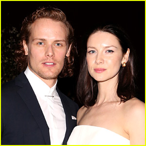 Outlander's Sam Heughan & Caitriona Balfe Are In a Funny Twitter 'Feud'