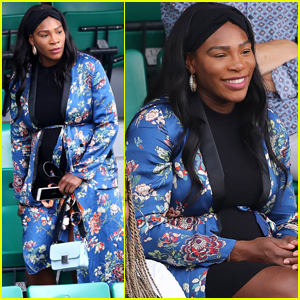 Serena Williams Accentuates Her Baby Bump at French Open