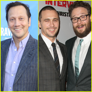 Seth Rogen & Rob Schneider Got Into a Twitter Feud & It Involved James Franco