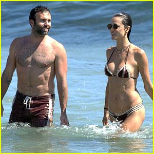 Alessandra Ambrosio Shows Off Beach Bod In Ibiza with Fiance Jamie Mazur