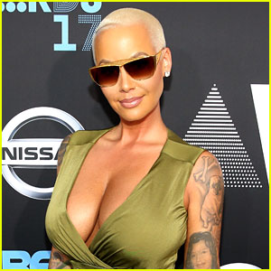 Amber Rose Ponders Getting Breast Reduction: 'My Boobs Are Stupid Heavy'