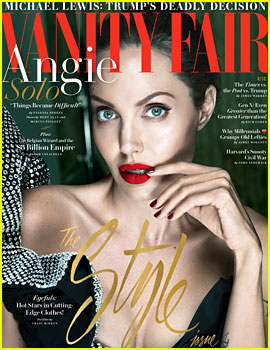 Angelina Jolie Gets Candid About Split From Brad Pitt, Bell's Palsy Diagnosis & More in 'Vanity Fair'
