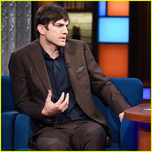 Ashton Kutcher's Theory On President Donald Trump's Not 'Fully Baked' Tweeting Style!