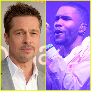 Brad Pitt Made Surprise Appearance at Frank Ocean's Show (Video)