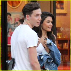 Brooklyn Beckham & Madison Beer Go Out for Dinner & a Movie!