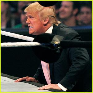President Trump Tweets Video of Him Tackling 'CNN' in Wrestling Ring