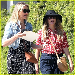 Drew Barrymore Helps Cameron Diaz Shop for New Furniture