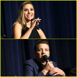 Elizabeth Olsen & Jeremy Renner Team Up for 'Wind River' L.A. Screening - Watch New Trailer!