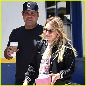 Hilary Duff Meets Up with Ex Husband Mike Comrie