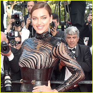 Irina Shayk Shows Off Incredible Body In Lingerie Selfie