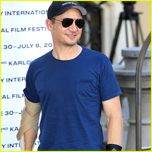 Jeremy Renner Reveals How He Injured Both His Arms