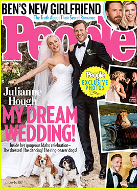 Julianne Hough & Brooks Laich's Official Wedding Photo Revealed!