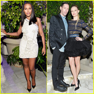 Kerry Washington, Kate Bosworth & More Celebrate Balmain L.A Boutique Opening!