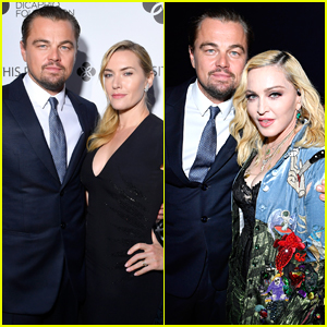 Leonardo DiCaprio is Supported by Kate Winslet, Madonna, & More at His Foundation Gala