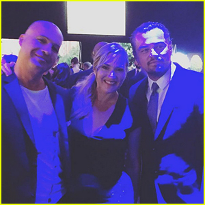 Leonardo DiCaprio, Kate Winslet, & Billy Zane Have a 'Titanic' Reunion at Charity Gala!