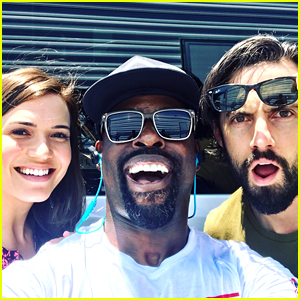Mandy Moore, Sterling K Brown, & Milo Ventimiglia Begin Filming 'This Is Us' Season 2!