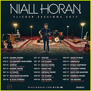 Niall Horan Announces Intimate 'Flicker Sessions' Tour - See The Dates Here!