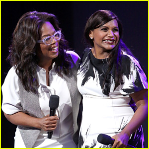 Oprah Winfrey Reveals Mindy Kaling is Five Months Pregnant!