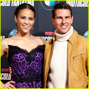 Paula Patton Dishes on What It's Like Kissing Tom Cruise!