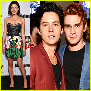 Phoebe Tonkin, KJ Apa, & CW Stars Step Out for EW's Comic-Con 2017 Party