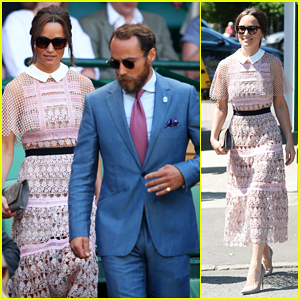 Pippa Middleton & Brother James Hit The Royal Box For Wimbledon Day Three!