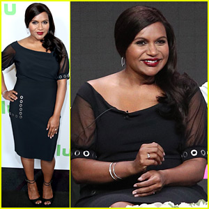 Pregnant Mindy Kaling Talks 'Mindy Project' at TCA Press Tour