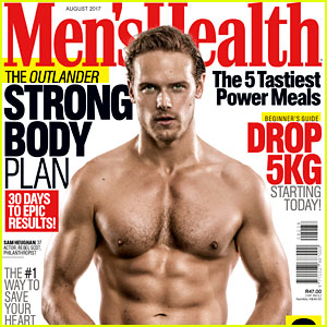 Sam Heughan Is Shirtless & Ripped for 'Men's Health South Africa'!