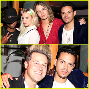 Ashlee Simpson's Hubby Clearly Has No Problems with Her Ex!
