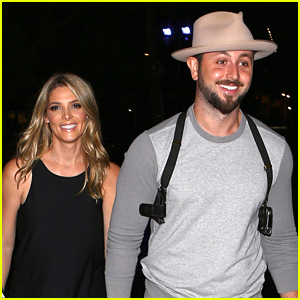 Ashley Greene & Fiance Paul Khoury Enjoy Date Night at Ed Sheeran Concert