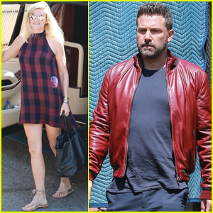 Ben Affleck & Lindsay Shookus Head to Work Together!