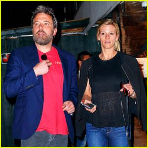 Ben Affleck & Lindsay Shookus Enjoy Dinner Date in New York