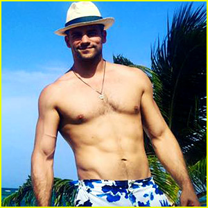 Fifty Shades' Brant Daugherty Shares Hot Shirtless Pics from Birthday Vacation!