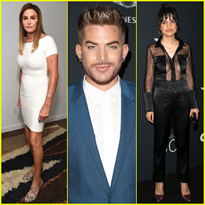 Caitlyn Jenner, Adam Lambert & Natalie Morales Lead the Pack at 'Out' Power 50 Gala!