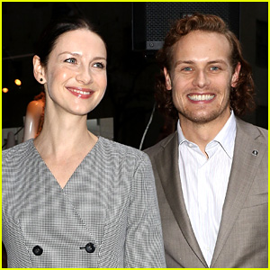 Caitriona Balfe Calls Sam Heughan a 'Numpty' After He Posts 'Outlander' Spoiler
