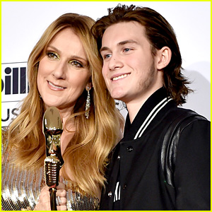 Celine Dion Dances in Crowd at Son Rene-Charles' Hockey Games - Watch Video!