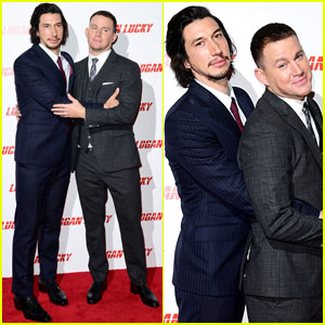 Channing Tatum & Adam Driver Are Giving Us Senior Prom Vibes with These Fun Photos