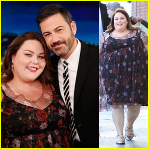 Chrissy Metz Recalls Time She Almost Got Kicked Out of 'Jimmy Kimmel Live' Audience!