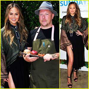 Chrissy Teigen Helps Kick Off Sapphire Sundays Brunch Series!