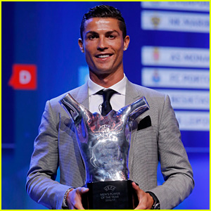 Cristiano Ronaldo Named UEFA Men's Player of the Year