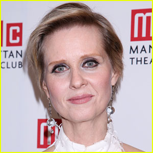 Cynthia Nixon Asked About Governor Run & She Doesn't Deny It!
