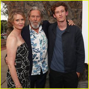 Cynthia Nixon & Jeff Bridges Get Together for 'The Only Living Boy In New York' Hamptons Screening!
