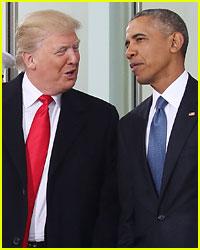 Donald Trump Takes Jab at Barack Obama with Meme on Twitter