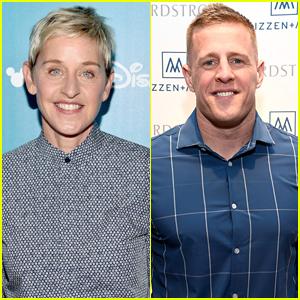 Ellen DeGeneres & Walmart Make Major Donation to JJ Watt's Hurricane Harvey Relief Fund - Watch Now!
