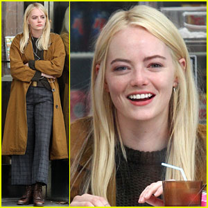 Emma Stone is Busy Filming Her New Movie in NYC